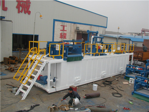 Mud tanks for Hubei 417 Geological Exploration Team